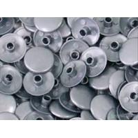 Заглушка для конфірмату пластикова алюміній