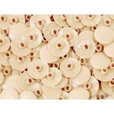 Заглушка для конфірмату пластикова кремова