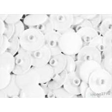 Заглушка для конфірмату пластикова біла