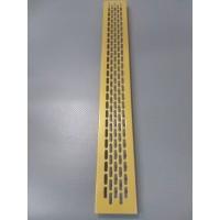 Алюмінієва решітка 480*60мм колір RAL1036