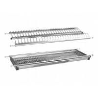 Сушка для кухні 500мм нержавіюча сталь ( 2 сітки та піддон)