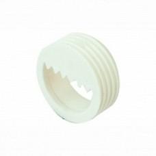 Навіс MESAN d30*11мм врізний пластиковий зубчастий