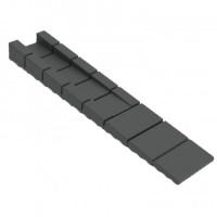 Клинчик пластиковий MESAN 100*20*2,4мм чорний