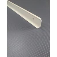 Стикова планка для стільниці LUXEFORM кутова колір RAL1015
