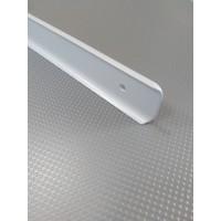 Стикова планка для стільниці LUXEFORM кутова колір RAL7040