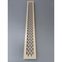 Алюмінієва решітка 480*60мм колір RAL1019