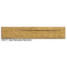 Кромка ABS Polkemic 22*2мм  N02/71 дуб небраска натуральна