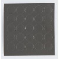 Заглушки самоклеючі Zbytex d-20мм №47 графіт